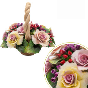 Corbellina con manico rose grande